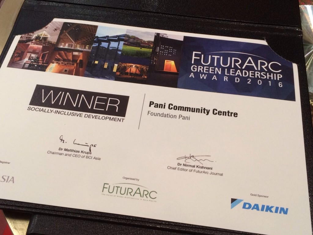 FuturArc Green Leadership Award